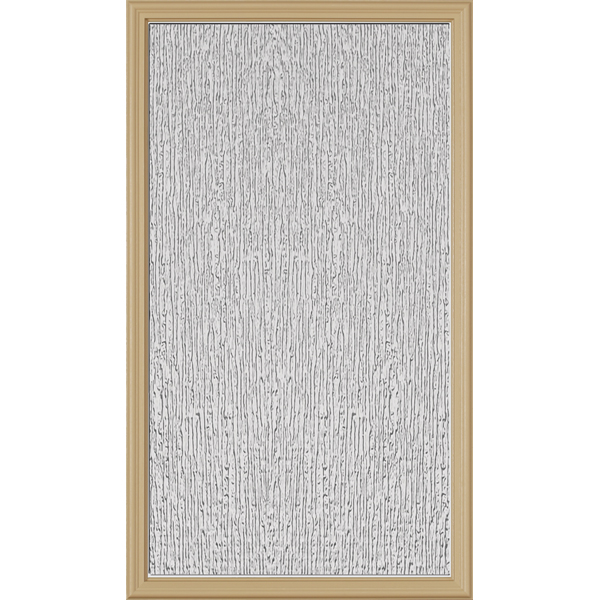 "ODL Perspectives Low-E Door Glass - Rain - 22"" x 38"" Frame Kit"