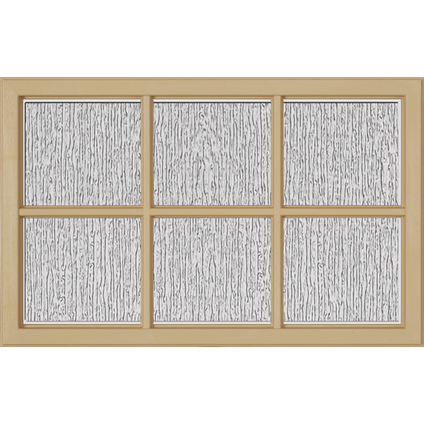 "Image for ODL Perspectives Low-E Door Glass - Rain - 27"" x 17.25"" Craftsman Frame Kit from Zabitat"
