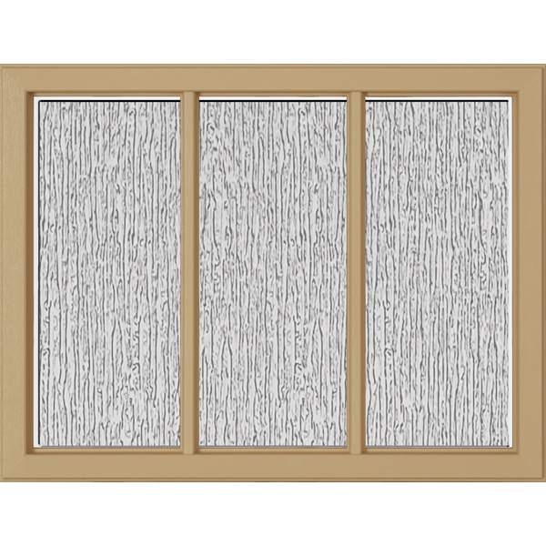 "Image for ODL Perspectives Low-E Door Glass - Rain - 23.313"" x 17.938"" Craftsman Frame Kit from Zabitat"