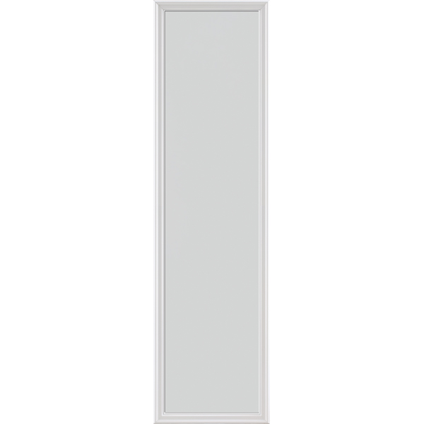 "Image for ODL Impact Resistant Perspectives Low-E Door Glass - Blanca - 22"" x 82"" Frame Kit from Zabitat"