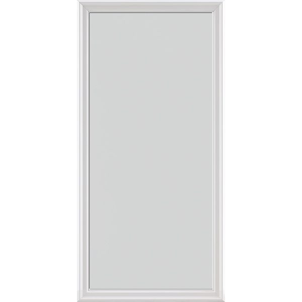 "Image for ODL Impact Resistant Perspectives Low-E Door Glass - Blanca - 24"" x 50"" Frame Kit from Zabitat"