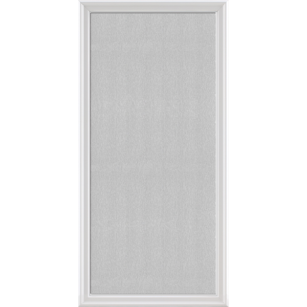 "Image for ODL Impact Resistant Perspectives Low-E Door Glass - Textured Streamed - 24"" x 50"" Frame Kit from Zabitat"