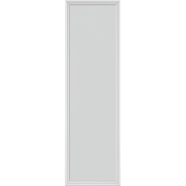"Image for ODL Impact Resistant Perspectives Low-E Door Glass - Blanca - 24"" x 82"" Frame Kit from Zabitat"