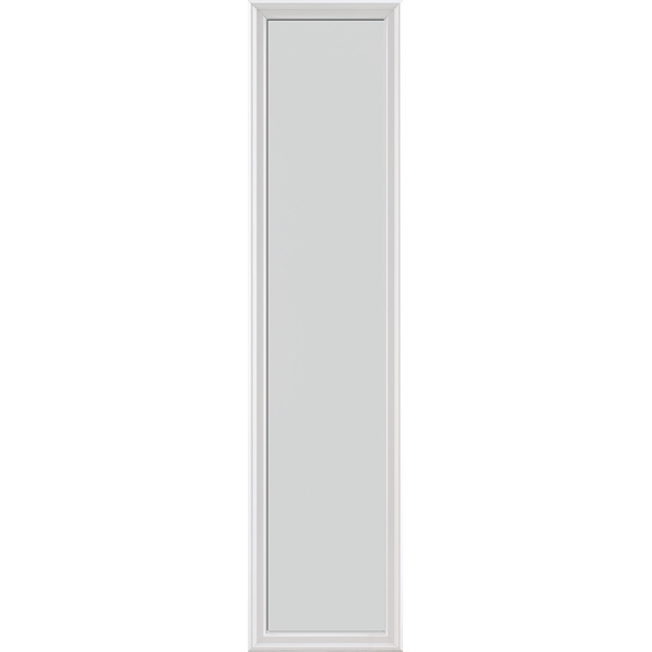 "Image for ODL Impact Resistant Perspectives Low-E Door Glass - Blanca - 16"" x 66"" Frame Kit from Zabitat"
