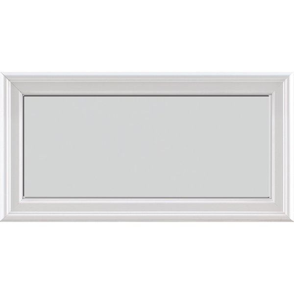 "Image for ODL Impact Resistant Perspectives Low-E Door Glass - Blanca - 24"" x 12"" Frame Kit from Zabitat"