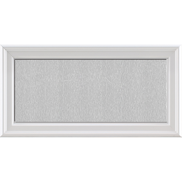 "Image for ODL Impact Resistant Perspectives Low-E Door Glass - Textured Streamed - 24"" x 12"" Frame Kit from Zabitat"