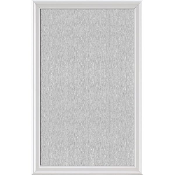"Image for ODL Impact Resistant Perspectives Low-E Door Glass - Textured Streamed - 24"" x 38"" Frame Kit from Zabitat"
