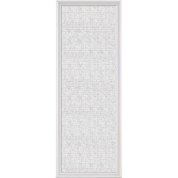 "ODL Impact Resistant Low-E Door Glass - Linen - 24"" x 66"" Frame Kit"