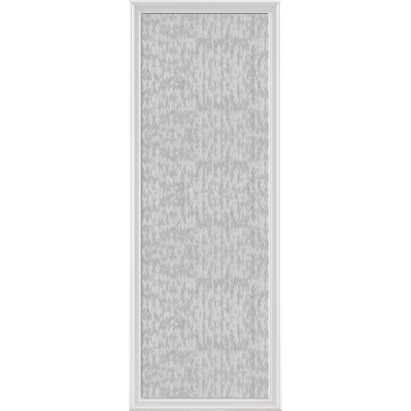 "Image for ODL Impact Resistant Perspectives Low-E Door Glass - Textured Streamed - 24"" x 66"" Frame Kit from Zabitat"