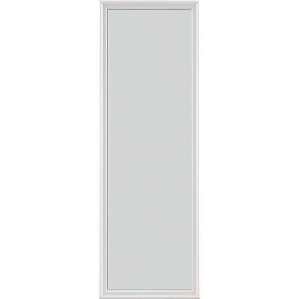 "Image for ODL Impact Resistant Perspectives Low-E Door Glass - Blanca - 22"" x 66"" Frame Kit from Zabitat"