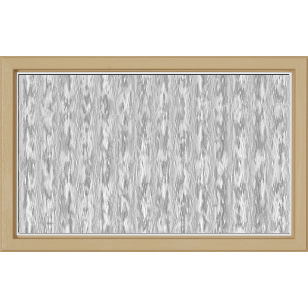 "Image for ODL Perspectives Low-E Door Glass - Textured Streamed - 27"" x 17.25"" Craftsman Frame Kit from Zabitat"