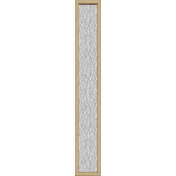 "Image for ODL Perspectives Low-E Door Glass - Textured Streamed - 10"" x 66"" Craftsman Frame Kit from Zabitat"