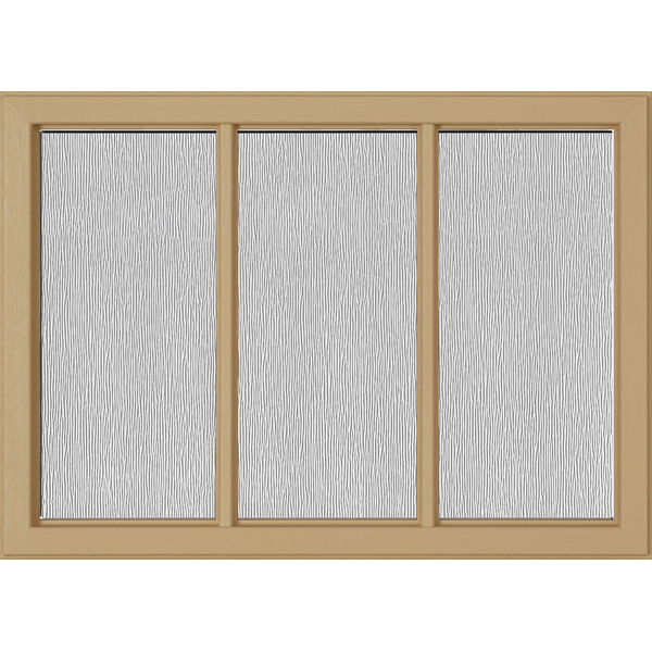 "Image for ODL Perspectives Low-E Door Glass - Textured Streamed - 24"" x 17.25"" Craftsman Frame Kit from Zabitat"