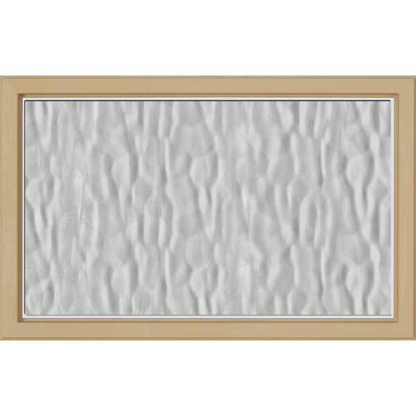 "Image for ODL Perspectives Low-E Door Glass - Textured Vapor - 27"" x 17.25"" Craftsman Frame Kit from Zabitat"