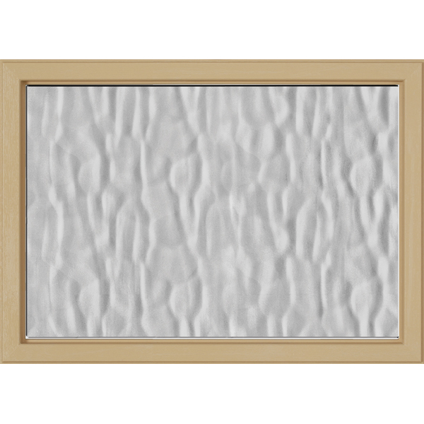 "Image for ODL Perspectives Low-E Door Glass - Textured Vapor - 24"" x 17.25"" Craftsman Frame Kit from Zabitat"