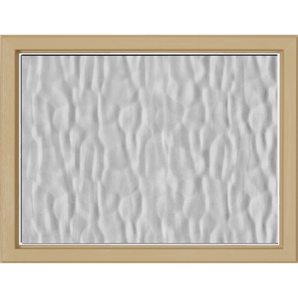 "Image for ODL Perspectives Low-E Door Glass - Textured Vapor - 23.313"" x 17.938"" Craftsman Frame Kit from Zabitat"
