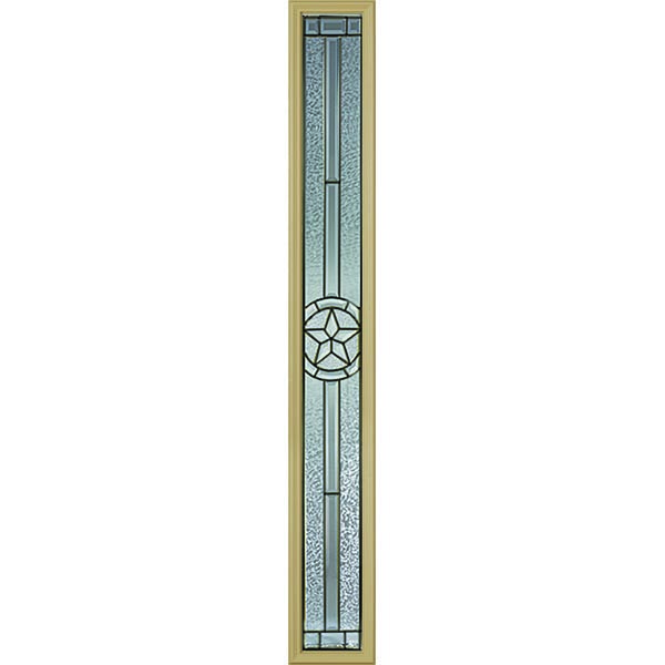 "Western Reflections Radiant Star Door Glass - 10"" x 66"" Frame Kit"