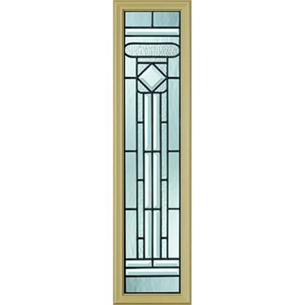 "Western Reflections Regency Door Glass - 10"" x 38"" Frame Kit"