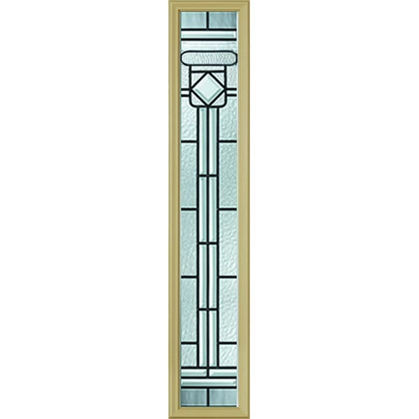 "Western Reflections Regency Door Glass - 10"" x 50"" Frame Kit"