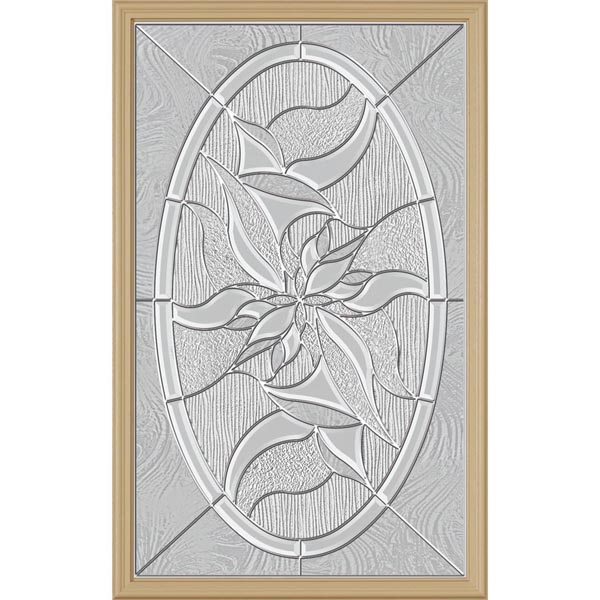 "ODL Renewed Impressions Door Glass - 24"" x 38"" Frame Kit"