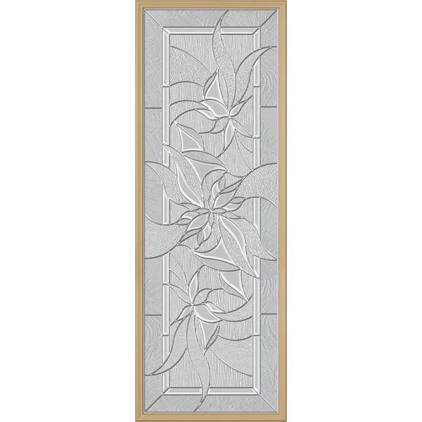 "ODL Renewed Impressions Door Glass - 24"" x 66"" Frame Kit"