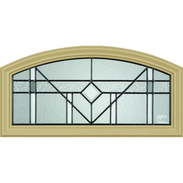 "Western Reflections Riverwood Door Glass - 24"" x 12"" Frame Kit"