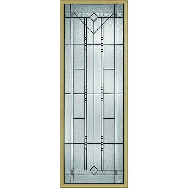"Western Reflections Riverwood Door Glass - 24"" x 66"" Frame Kit"