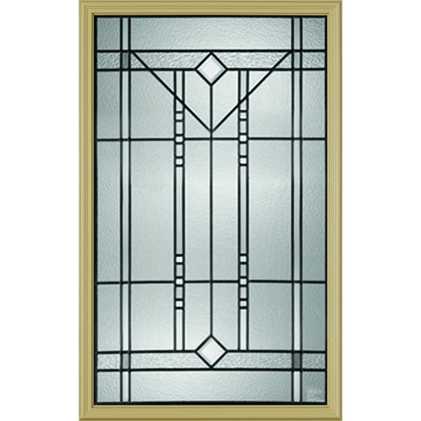 "Western Reflections Riverwood Door Glass - 24"" x 38"" Frame Kit"