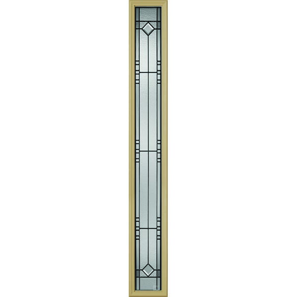 "Western Reflections Riverwood Door Glass - 9"" x 66"" Frame Kit"