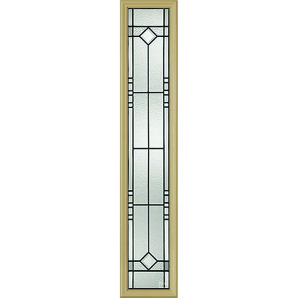 "Western Reflections Riverwood Door Glass - 10"" x 50"" Frame Kit"