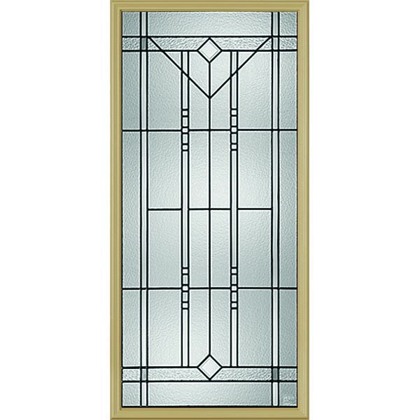 "Western Reflections Riverwood Door Glass - 24"" x 50"" Frame Kit"