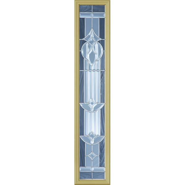 "Western Reflections Royal Fountain Door Glass - 10"" x 50"" Frame Kit"