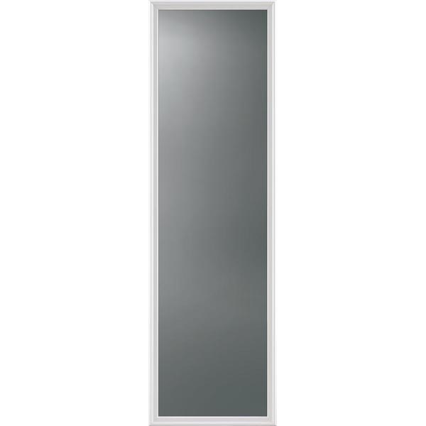 "ODL Impact Resistant Clear Solar Gray Door Glass - 24"" x 82"" Frame Kit"