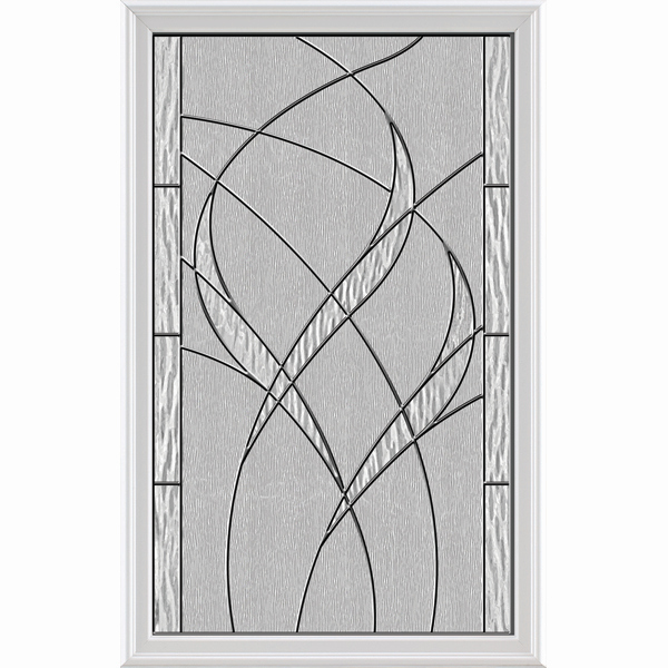 "ODL Impact Resistant Door Glass - Waterside - 24"" x 38"" Frame Kit"