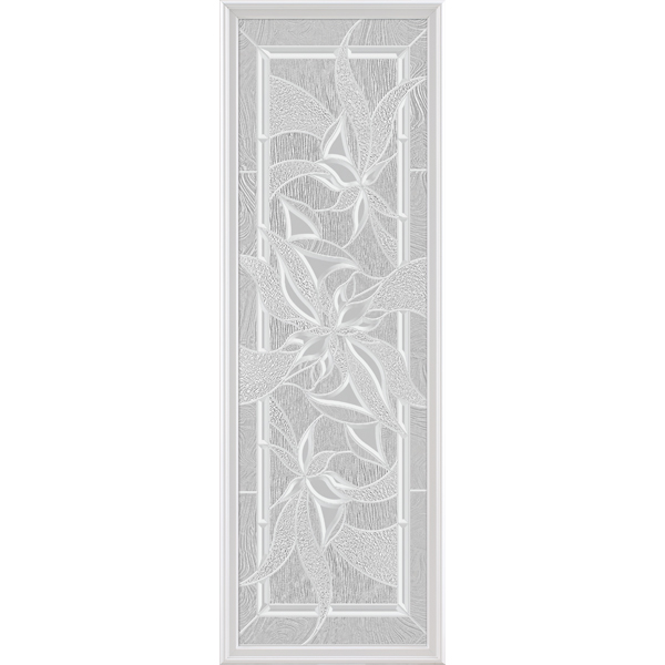 "ODL Impact Resistant Renewed Impressions Door Glass - 22"" x 66"" Frame Kit"