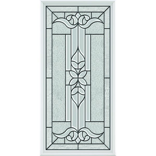 "ODL Impact Resistant Cadence Door Glass - 24"" x 50"" Frame Kit"
