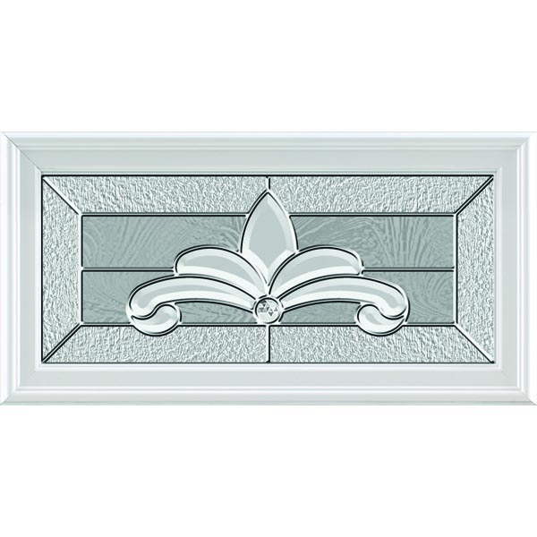 "ODL Impact Resistant Expressions Door Glass - 24"" x 12"" Frame Kit"