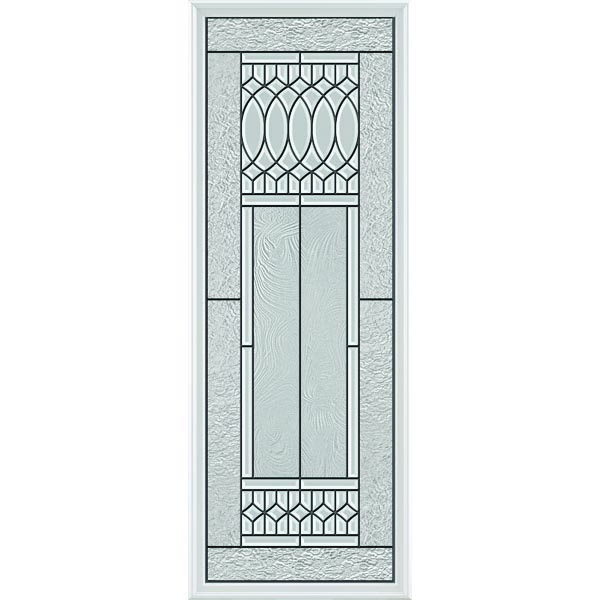 "ODL Impact Resistant Paris Door Glass - 24"" x 66"" Frame Kit"