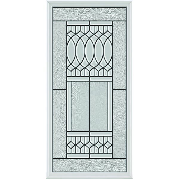 "ODL Impact Resistant Paris Door Glass - 24"" x 50"" Frame Kit"