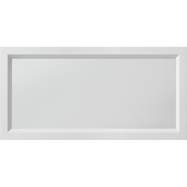 "ODL Spotlights Door Glass - Frosted - 24"" x 12"" Modern Frame Kit"
