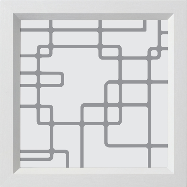 "ODL Spotlights Door Glass - Circuit - 14"" x 14"" Modern Frame Kit"