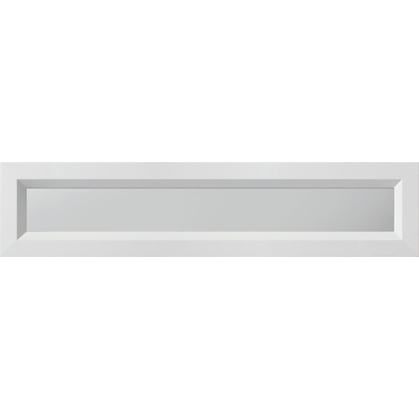 "ODL Spotlights Low-E Door Glass - Clear - 24"" x 5.5"" Modern Frame Kit"
