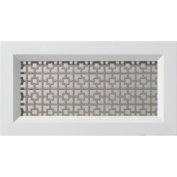 "ODL Spotlights Door Glass - Chain Link - 13"" x 7"" Modern Frame Kit"