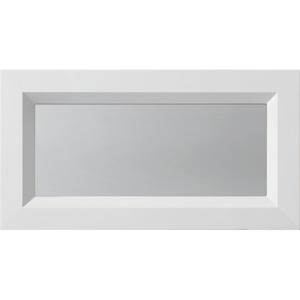 "ODL Spotlights Door Glass - Clear - 13"" x 7"" Modern Frame Kit"