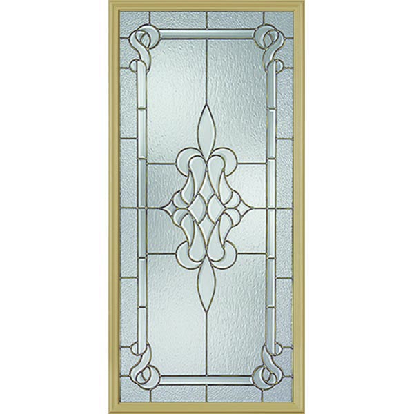 "Image for Western Reflections Stratford Door Glass - 24"" x 50"" Frame Kit from Zabitat"