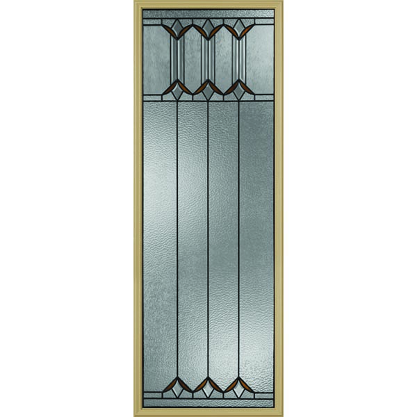 "Western Reflections Sylvan Park Door Glass - 24"" x 66"" Frame Kit"