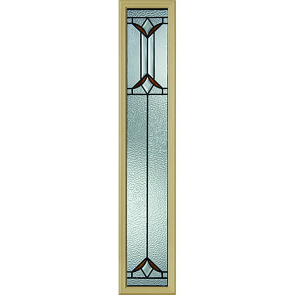 "Western Reflections Sylvan Park Door Glass - 10"" x 50"" Frame Kit"