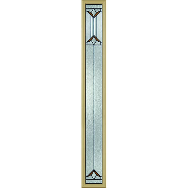 "Western Reflections Sylvan Park Door Glass - 10"" x 66"" Frame Kit"