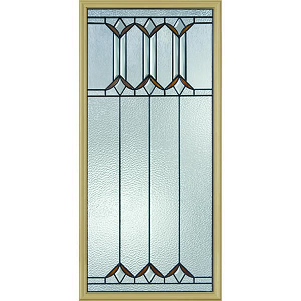 "Western Reflections Sylvan Park Door Glass - 24"" x 50"" Frame Kit"