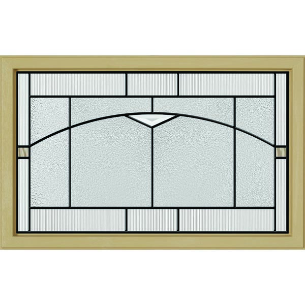 "ODL Topaz Door Glass - 27"" x 17.25"" Craftsman Frame Kit"